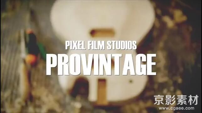 FCPX插件-ProVintage 专业复古调色效果-中文/英文Final Cut Pro X 插件