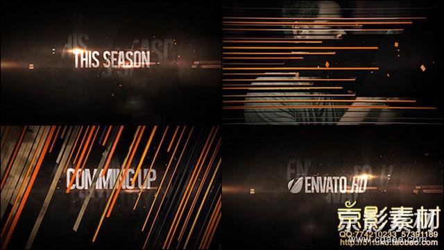 AE模板-电视栏目包装宣传片头 Broadcast Promo