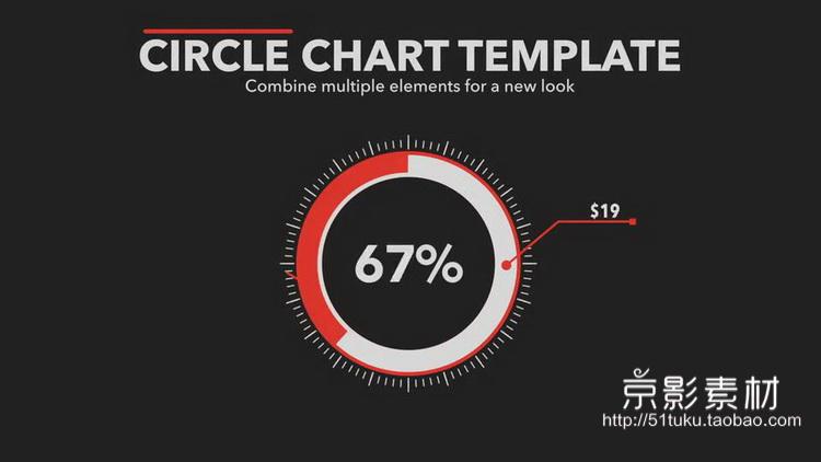 FCPX插件 Infographics-数据图表柱状图饼状图信息展示动画预设-Final Cut Pro X 插件