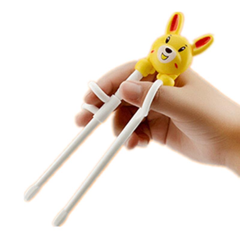 儿童筷子一段二段 学习筷 练习筷包邮右手训练筷宝宝餐具勺叉套装