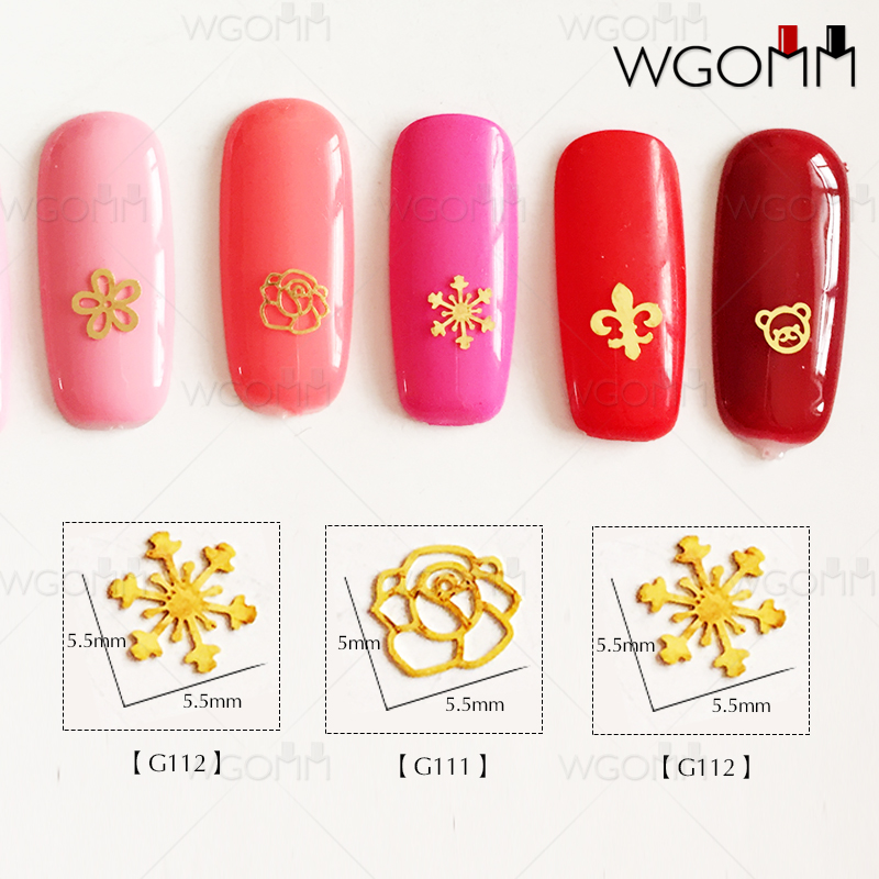 Manicure copper piece 18K ultra-thin Japanese Korean nail patch ...