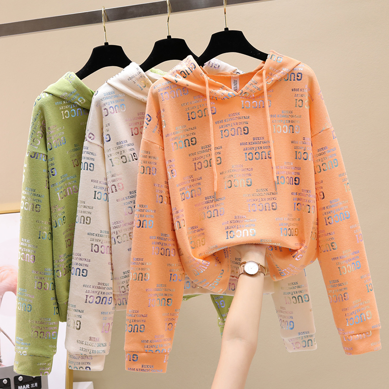 Ms. Wei Yi thin hooded ins long-sleeved 2020 new Korean version of loose spring and autumn early autumn jacket tide 39 Online shopping Bangladesh