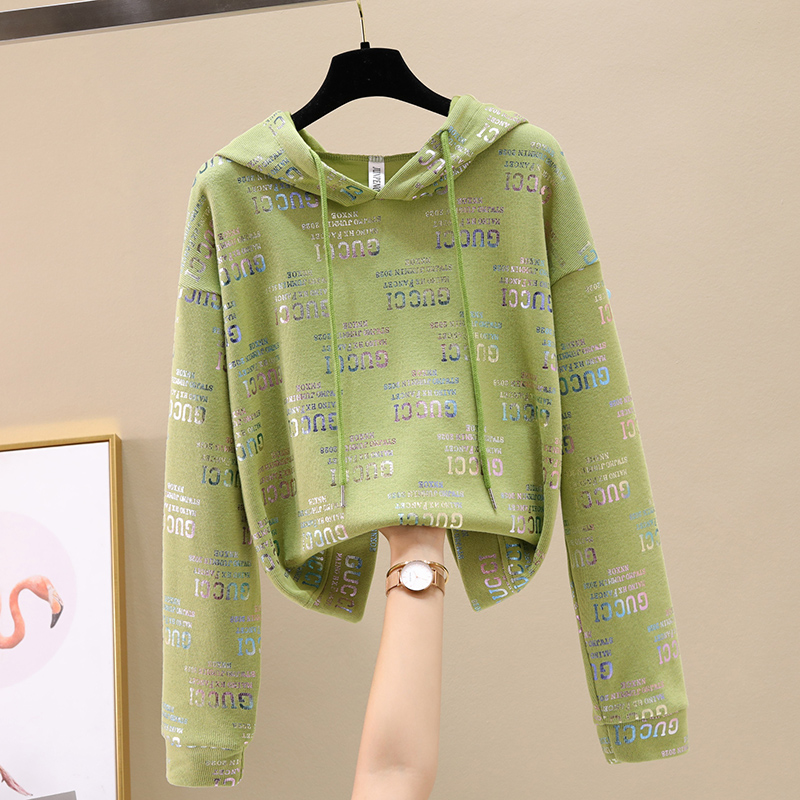 Ms. Wei Yi thin hooded ins long-sleeved 2020 new Korean version of loose spring and autumn early autumn jacket tide 47 Online shopping Bangladesh