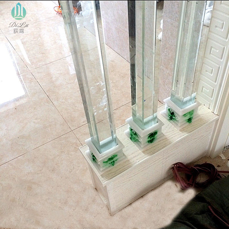 Engraving Crystal Bubble Column Column Column Glass Column Cut Off