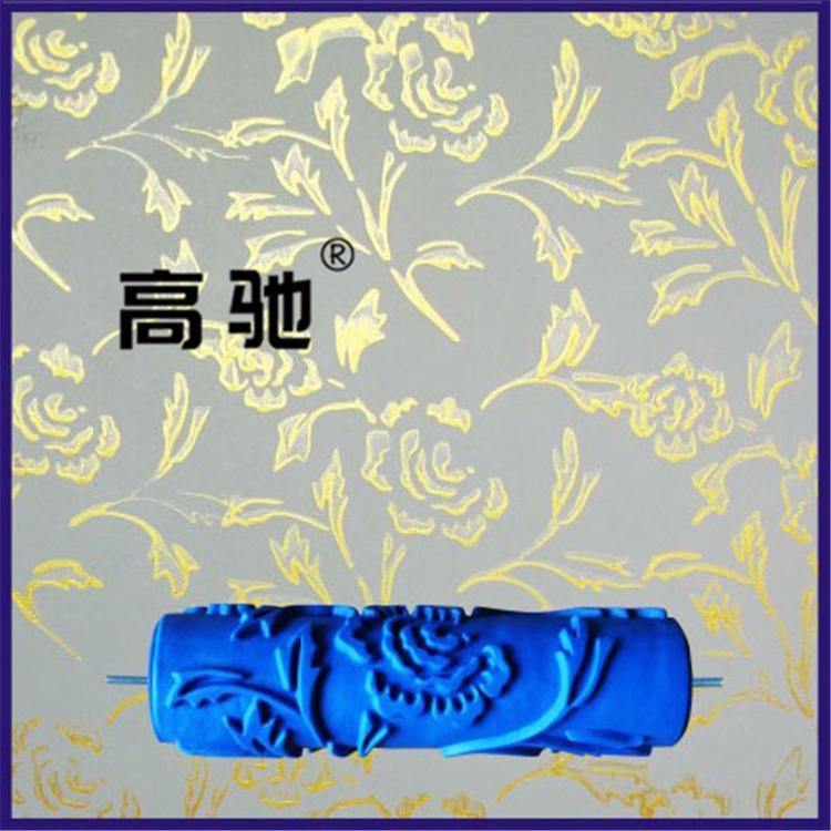 Жидкость стена бумага краски печать ролик щетка роз плесень 7 дюймовый EG110 чеканка ролик кремний водоросль грязь инструмент