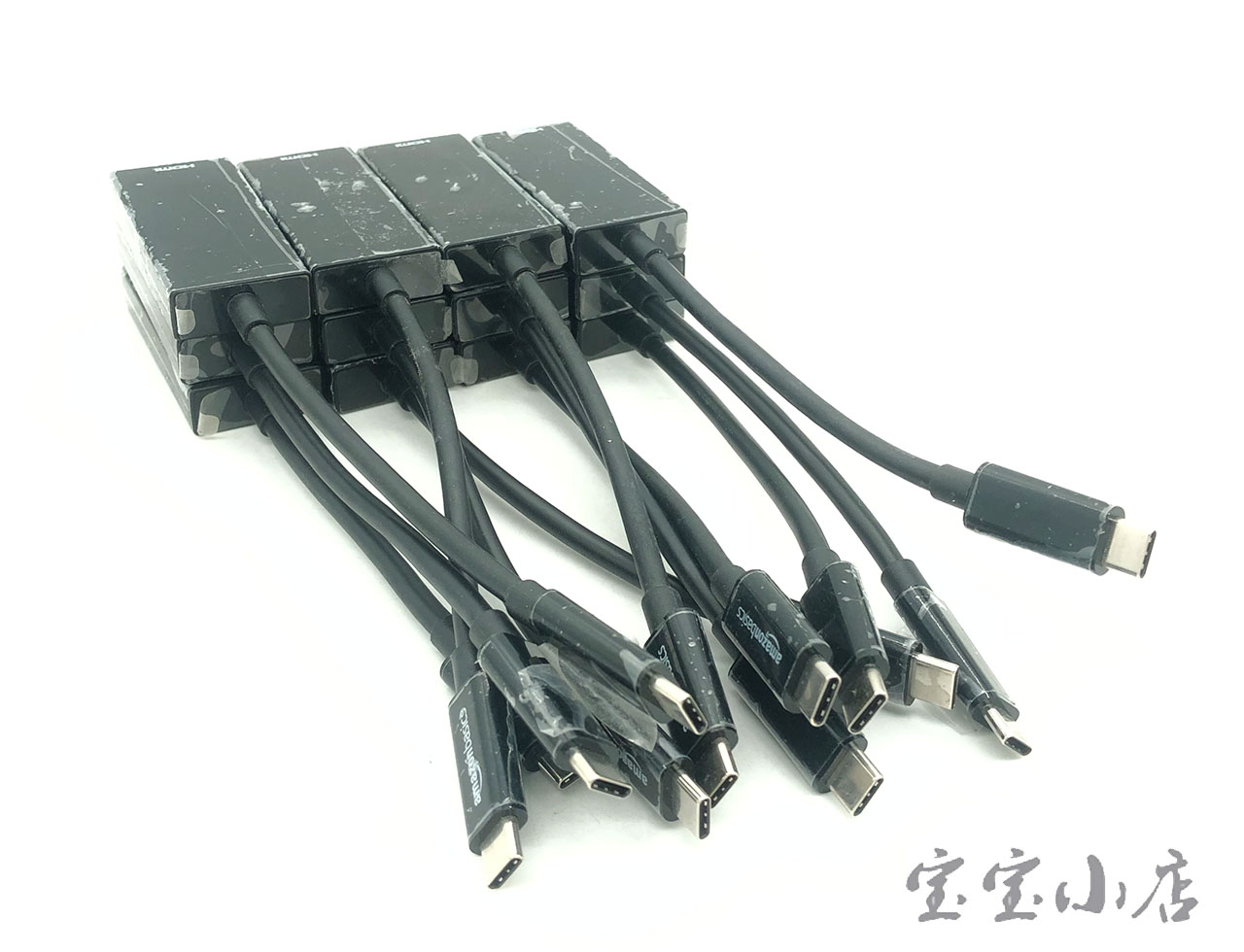 苹果usb c 3.1华为 type c转HDMI 转接头 4k高清转换器AmazonBasics USB 3.1 Type-C to HDMI Adapter Black