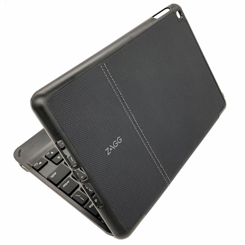 QTG-ZKMFOL 罗技ZAGG 苹果Ipad mini3 mini4保护套带键盘 防摔硅胶