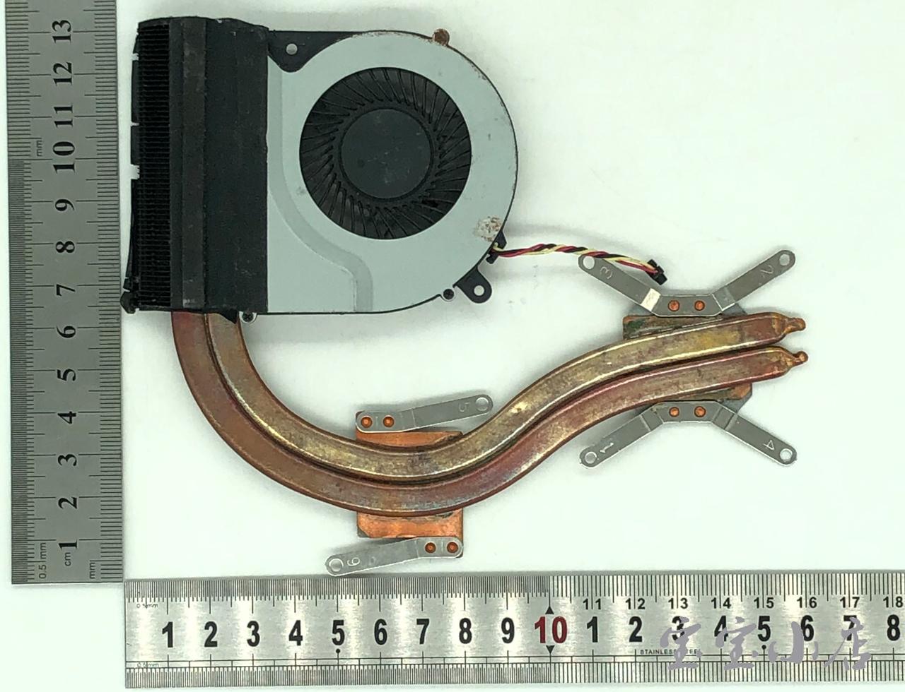 东芝Toshiba Satellite L850D C850 L850 C850D 散热模组 片 风扇铜管H000037360