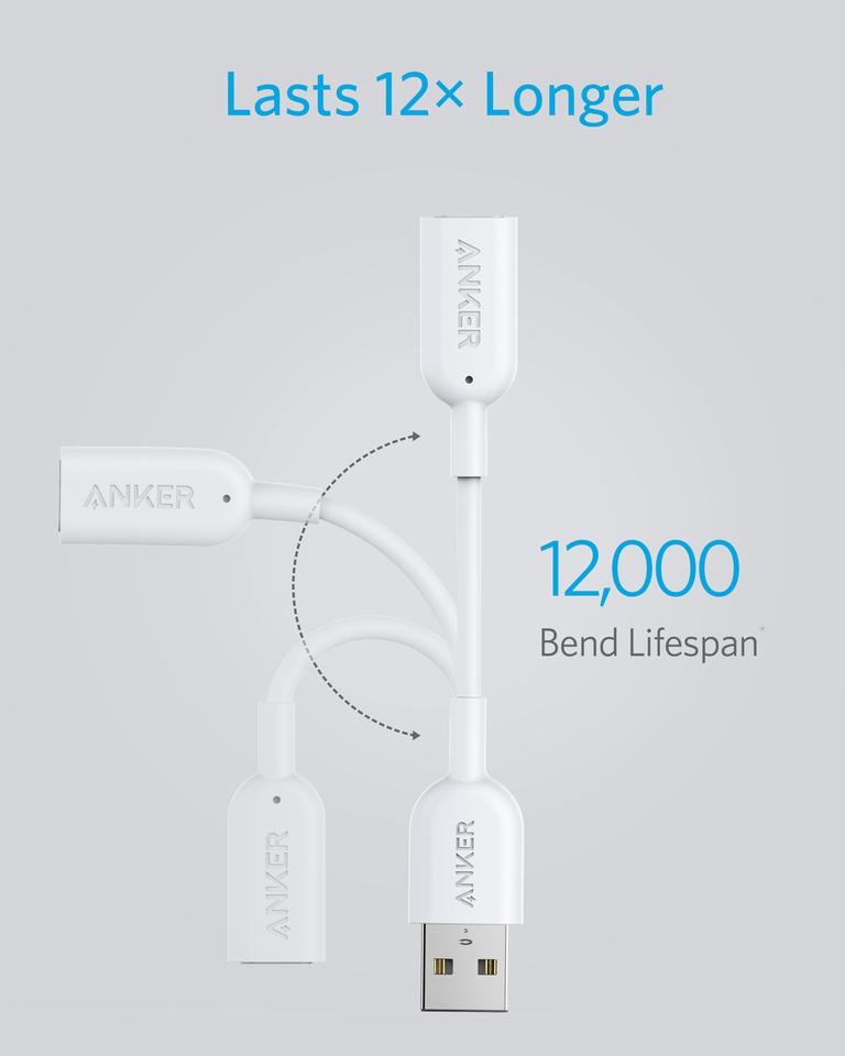 Anker USB-A转Lightning音频适配器 A8197 MFI认证USB-A USB C转Lightning母口转苹果母 音频线转换器