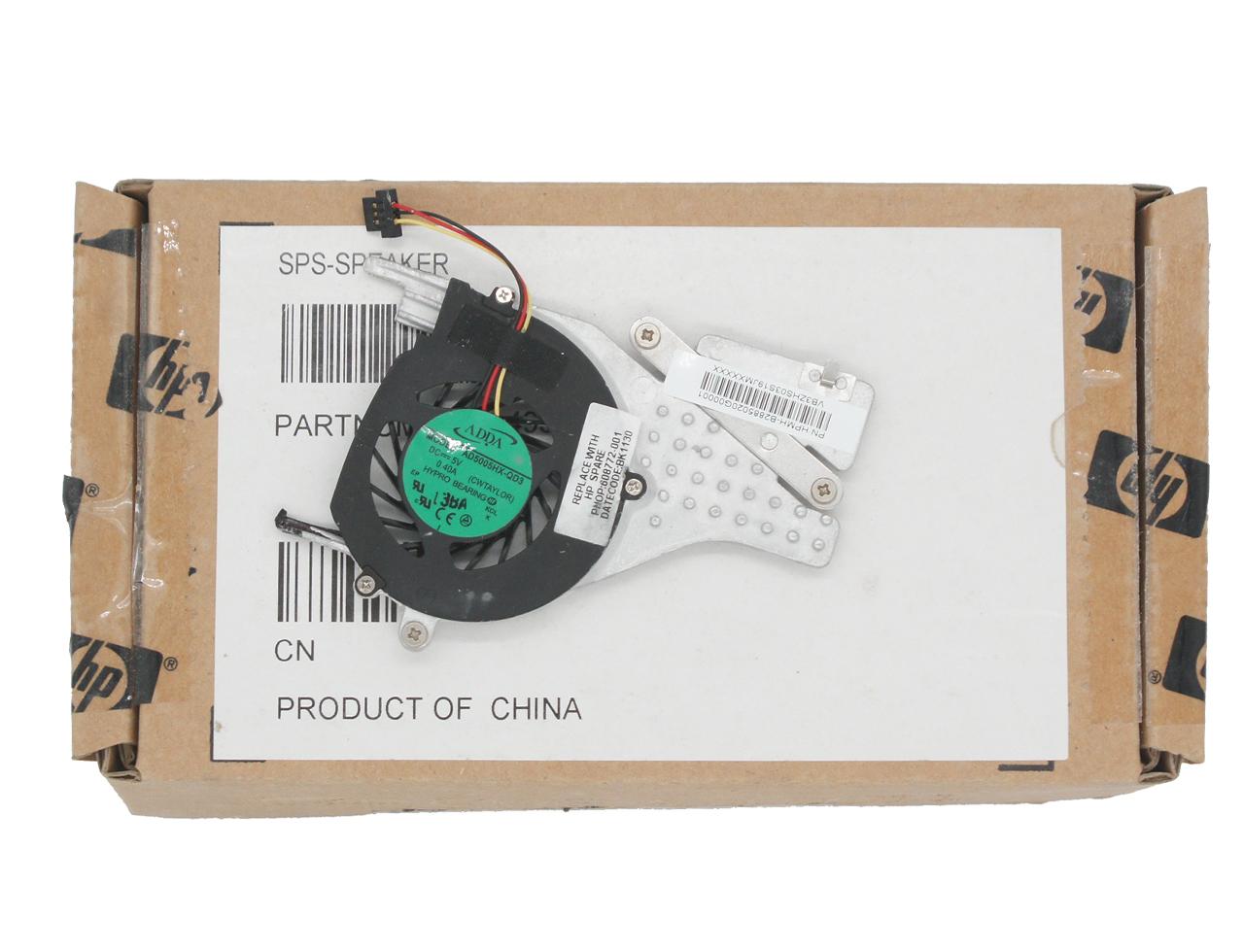 惠普HP MINI CQ10 210-1100 210 210-1000 DFS300805M10T F91R 608772-001 散热器 模组 风扇