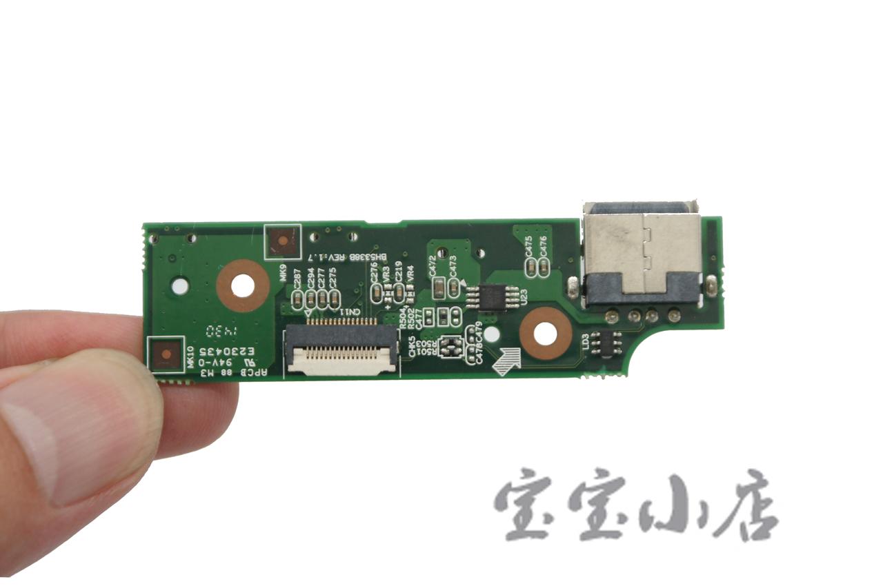 新到货149pcs 联想Lenovo IdeaPad Flex 10 Laptop USB Power Button Board Port Bh5338b电源开关小板 USB接口小板