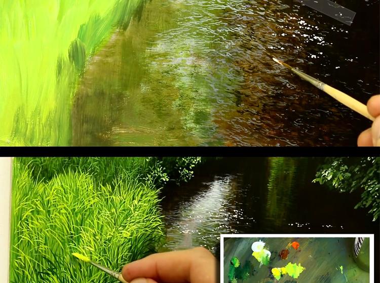 英國大師超寫實油畫風景 油畫教程視頻技法 3dvd 教學