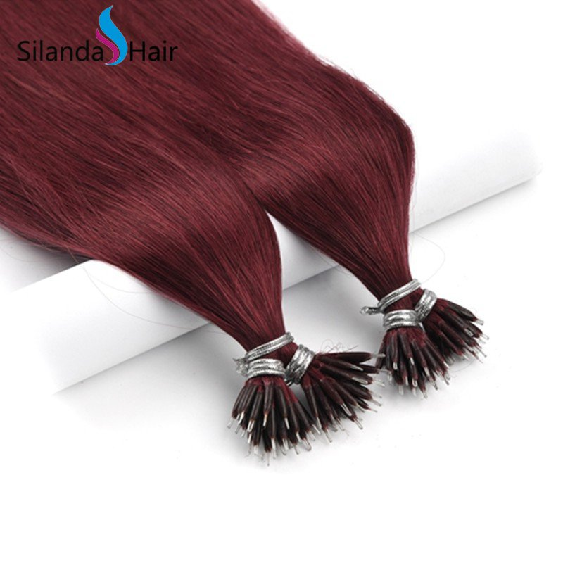 Silanda #530 Nano Bead Hair Extensions