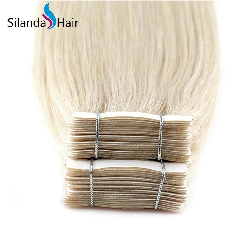 Silanda Hair #60A Luxury Remy Skin Weft