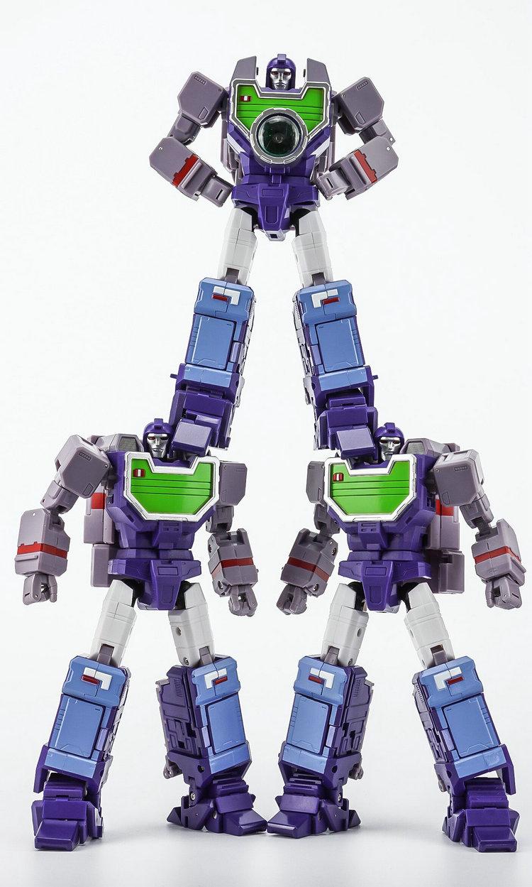 Transformers Masterpiece KFC Toys EAVI METAL P-5A Opticlones Reflector in stock