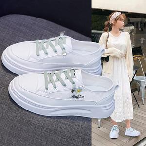 透气网面小白鞋女2020夏季新款韩版百搭学生网鞋女ins小雏菊板鞋