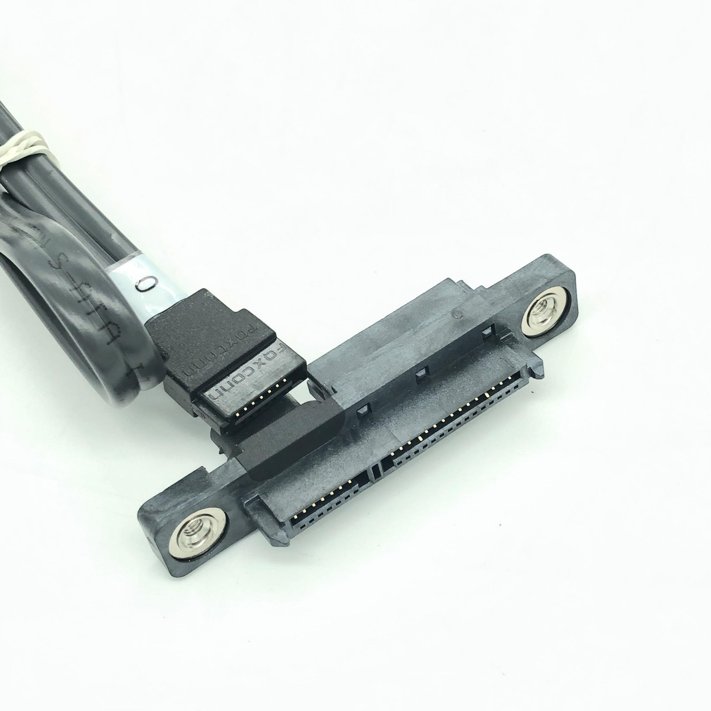 新到货5400条 IBM 数据线 SFF-8482 SAS转SATA线SAS硬盘接主板SATA转接线15PIN电源 富士康生产