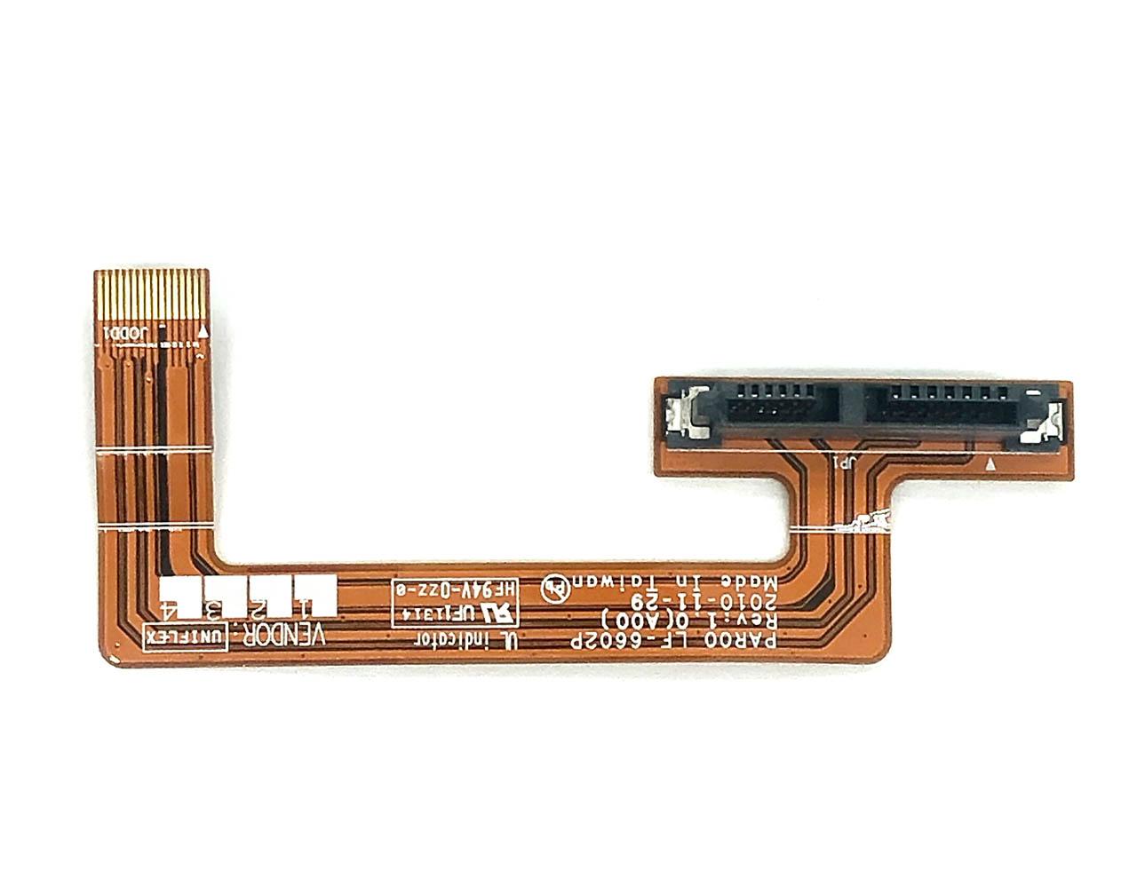 戴尔外星人Dell Alienware M15 M17x R3 R4 Optical Drive Ribbon Cable 排线 接口线 Part number:04JV8X 4JV8X LF-6602P
