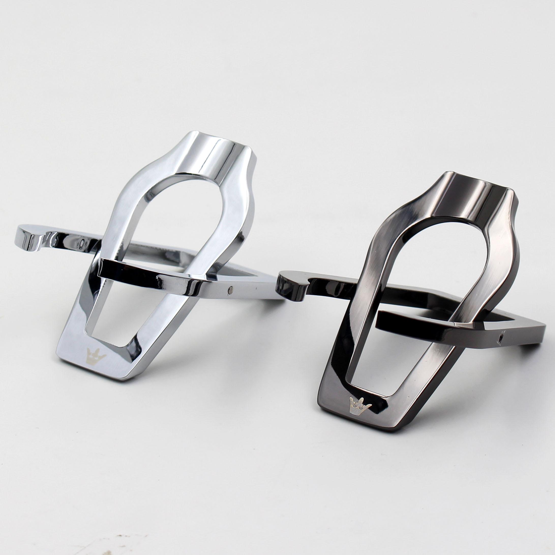 Нержавеющая сталь металлический Кухонная трубка один Битодержатель высококачественный Трубная стойка, фитинги из древесноволокнистых плит, серебро черный