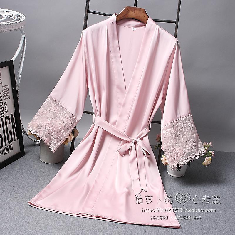 Сексуальная женщина ученый весна сезон шелковых ночное белье вентиляции, комфорт отдел ремень сексуальный один ночное белье 540680754261