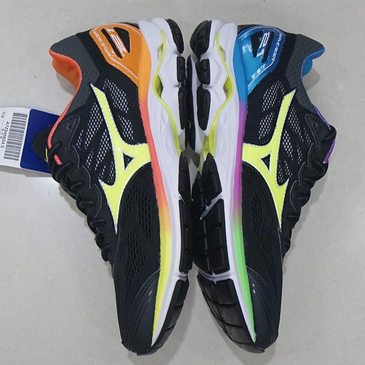 1fd67ba41261 Mizuno Mizuno rainbow jogging shoes couple sneakers Osaka Marathon memorial  edition RIDER 21 R21