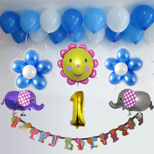 Color Classification Rainbow Balloon Package Blue Series Rose Red Purple 1 2 Boy