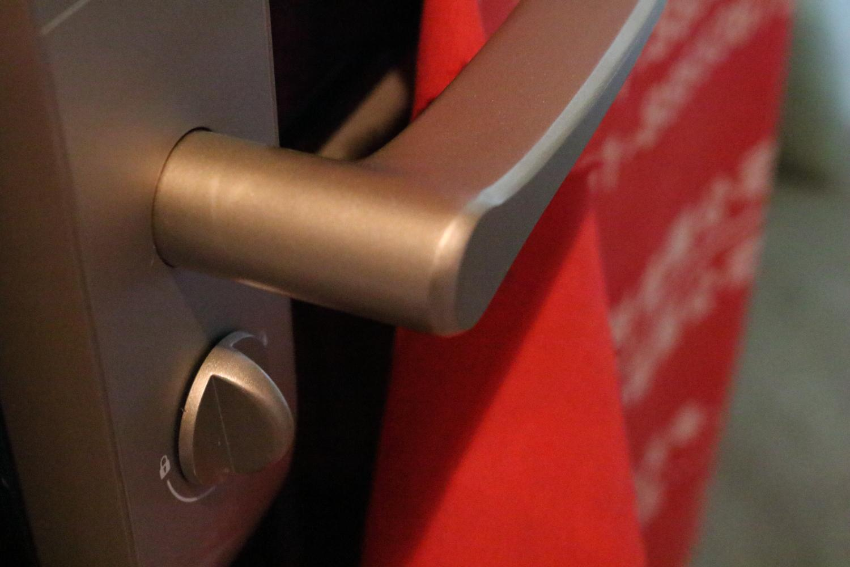 智能门锁安全吗?果加F0智能门锁评测