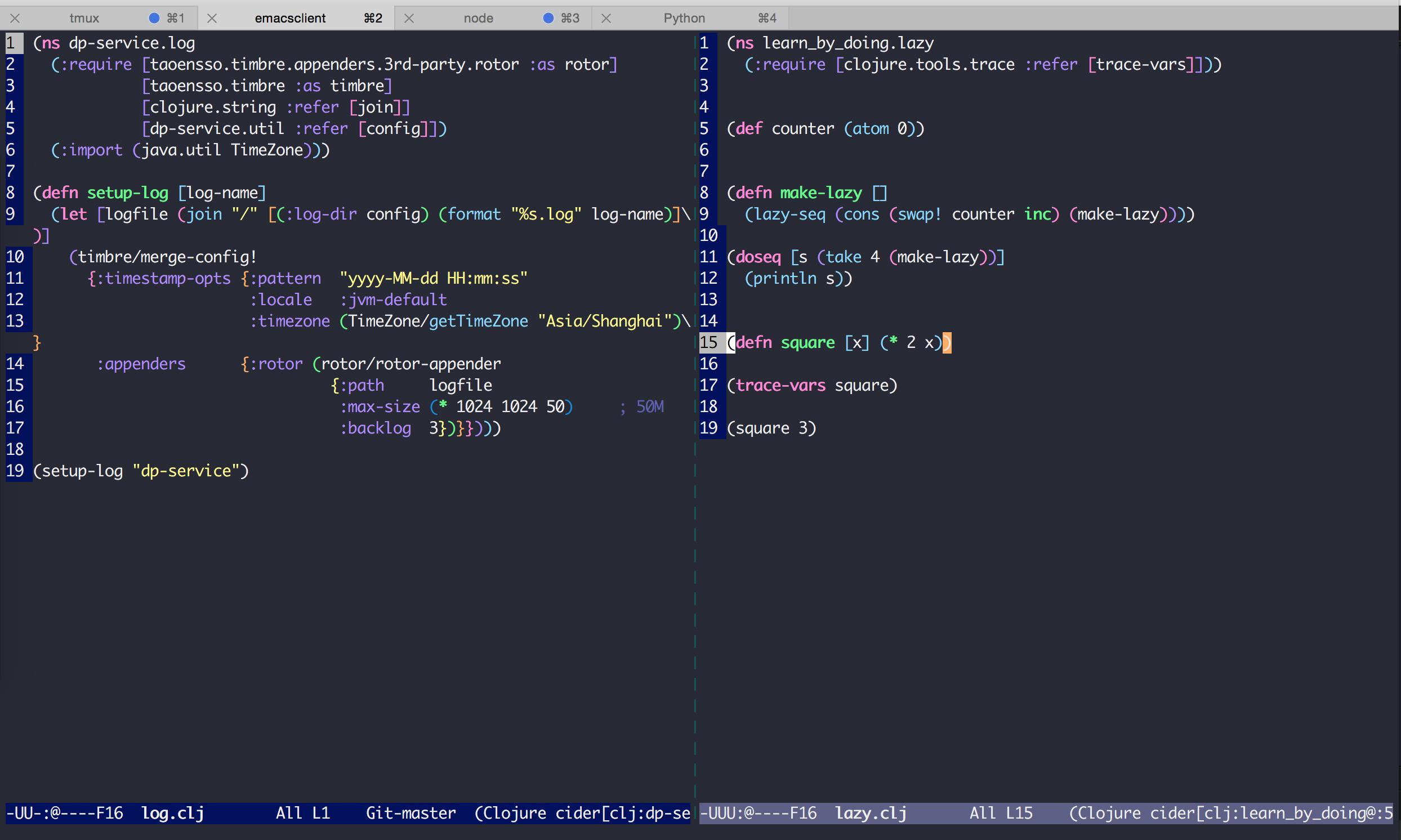Emacs + Cider 编程环境