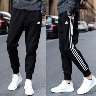 Adidas брюки официальный сайт осень зима сезон мужчина женщины любят спутник модель случайный движение исцелять пакет ступня прямо брюки, цена 3054 руб