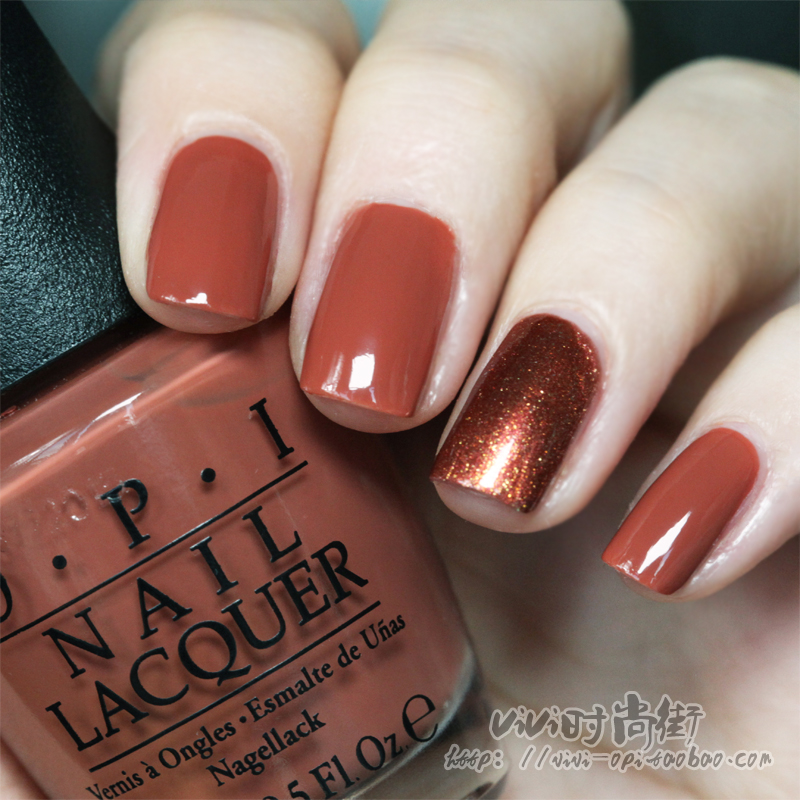 Usd 9 11 U S Opi Nail Polish Autumn And Winter Net Red Fairy Girl