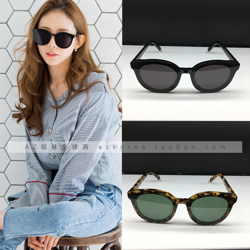 4303d3174bb ... Gentle monster sunglasses Korea purchasing blue sea GM sunglasses Fan  Bingbing BLACK PETER ...