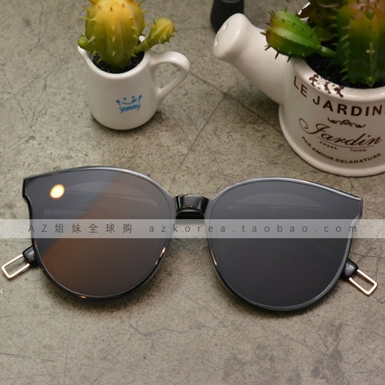 ada5d8fe53a ... Gentle monster sunglasses Korea purchasing blue sea GM sunglasses Fan  Bingbing BLACK PETER