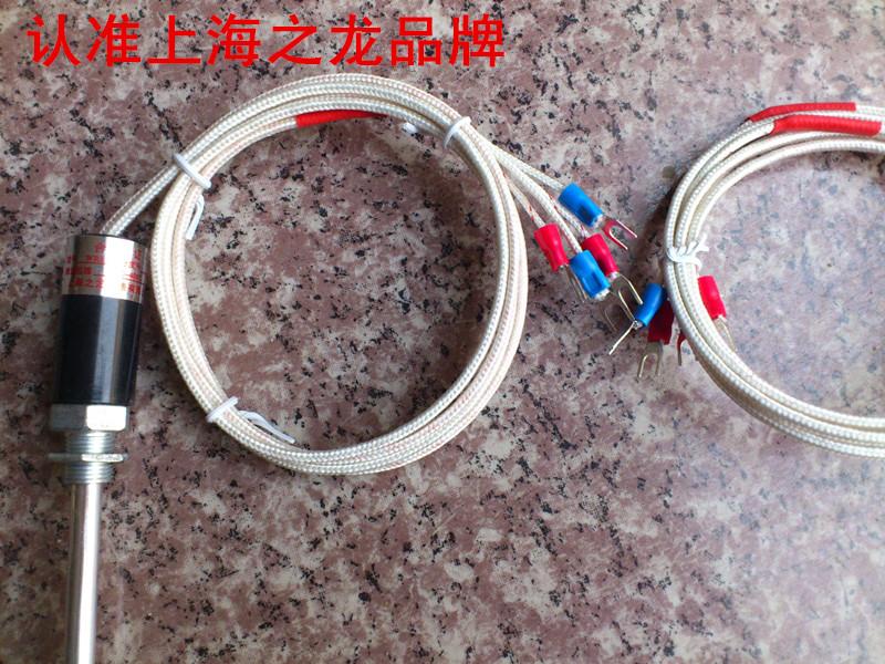 龙��e�:,^��~K����_上海之龙 温度传感器双支 k型 e型 热电偶探头传感器四根头