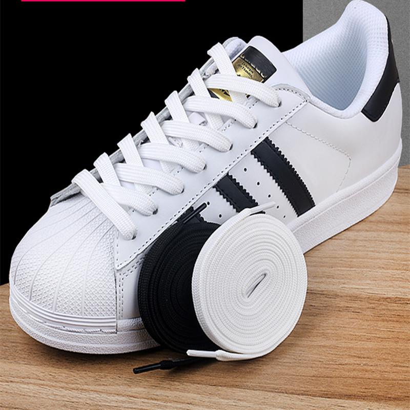 男女匡威vans空军一号AF1板鞋AJ1帆布鞋绳小白鞋鞋带扁平百搭纯白