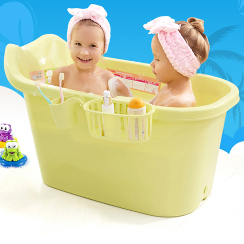 Baby tub thickening children\'s bath barrel extra large children can ...