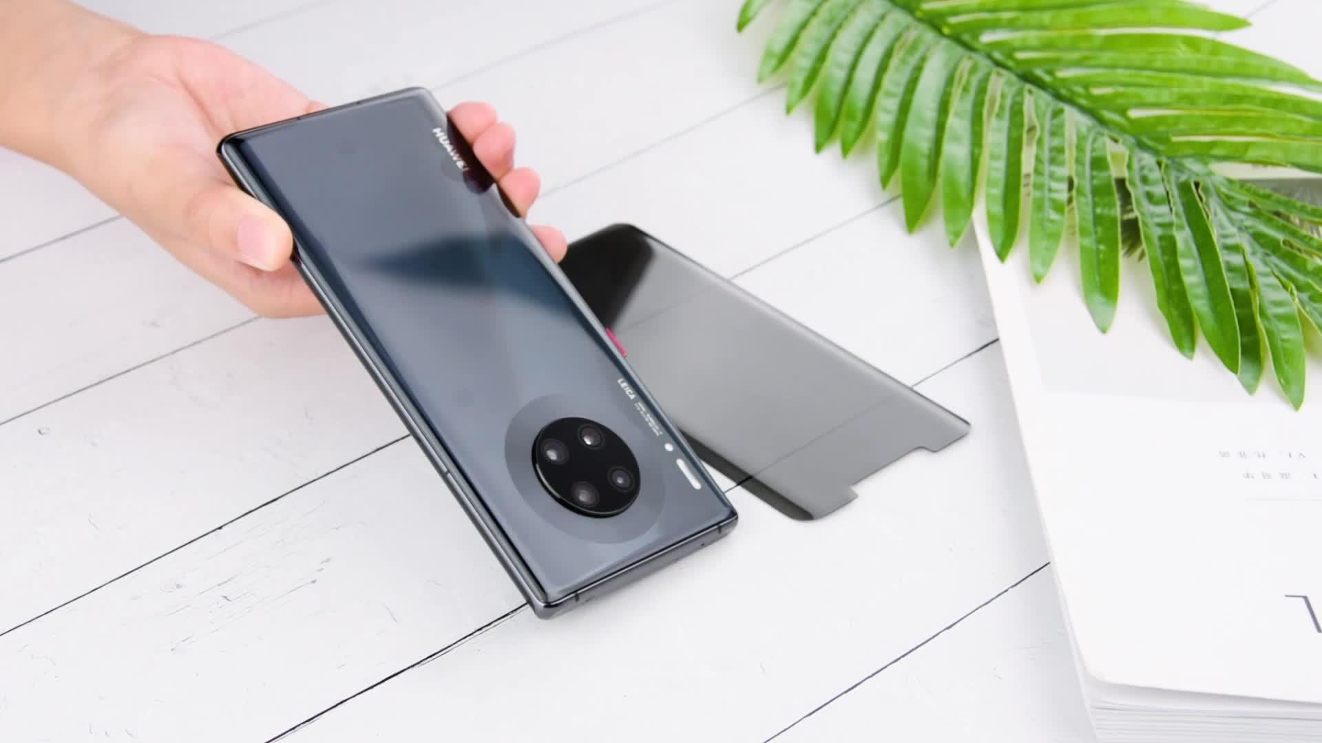 Anti-fingerprint privatsphäre gehärtetem glas für iphone 11 pro max screen protector
