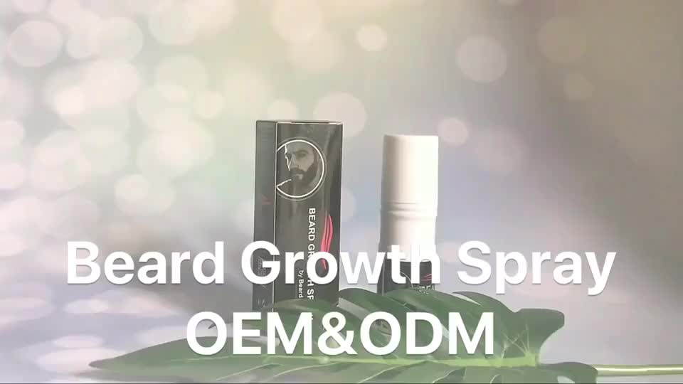 Hottest B2B Cosmetics Product Best Beard Growth Oil with Herbal Ingredients