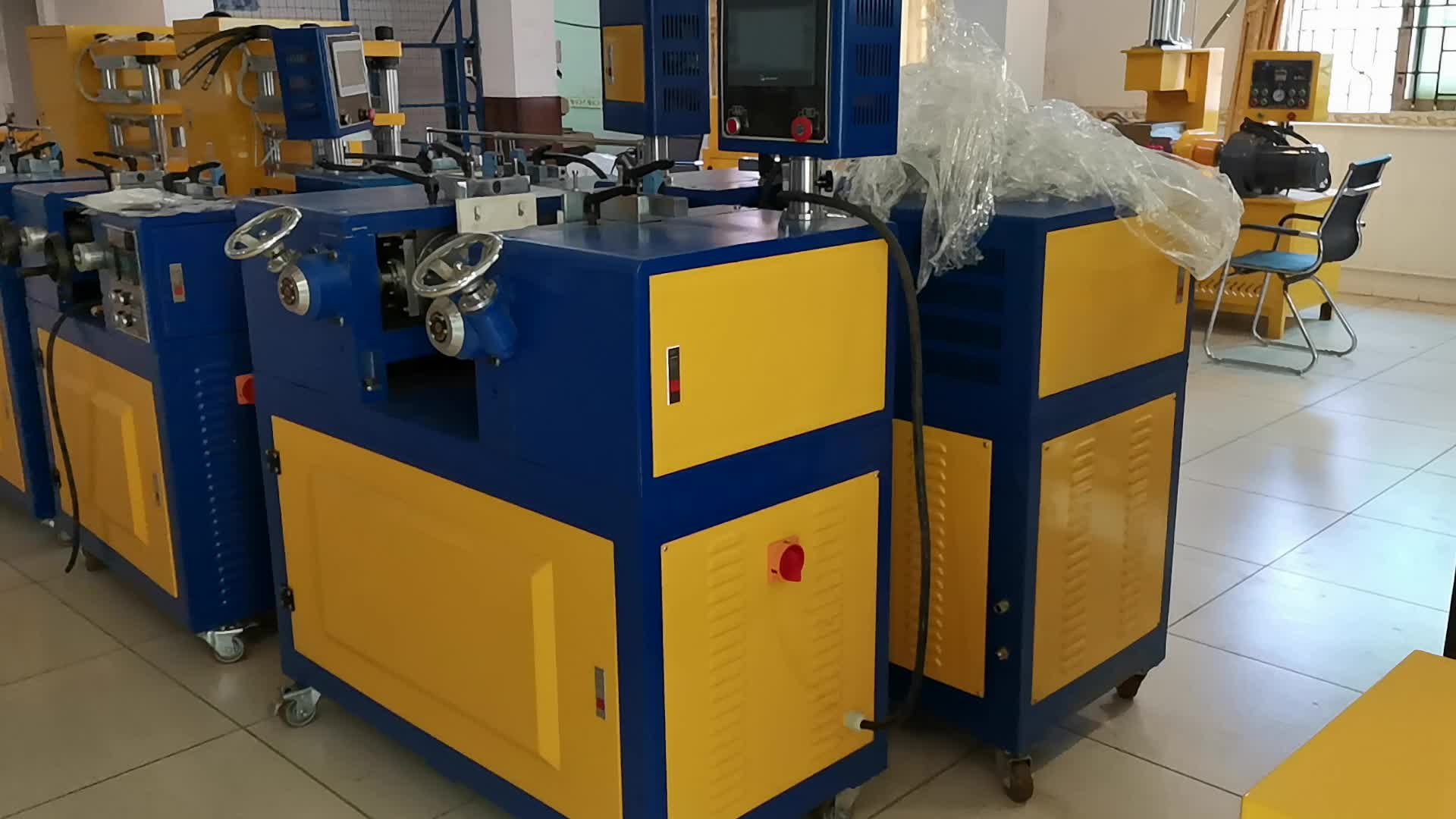 Rubber Plastic Lab Scale Two Roll Mill for PVC PE