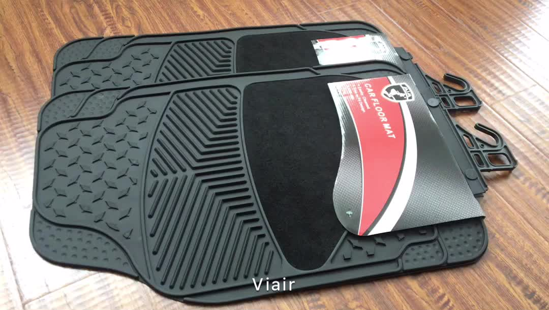 Hot Sale and Good Quality 4Piece Full Set Good Sale Universal Non-slip car Mat