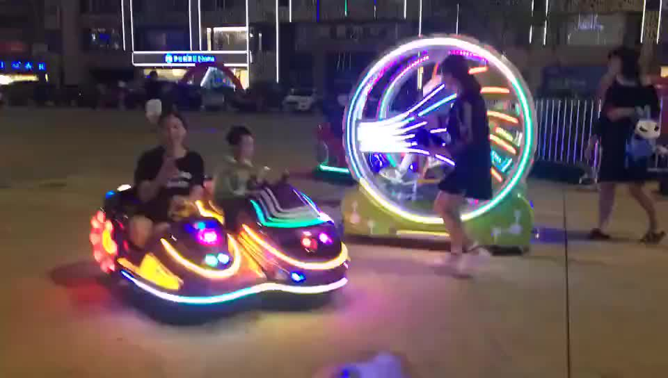 Remote Control Battery Car Family  Amusement Park Rides Kids Electric Kiddie Ride  Cars  Kid Adult Mini Games
