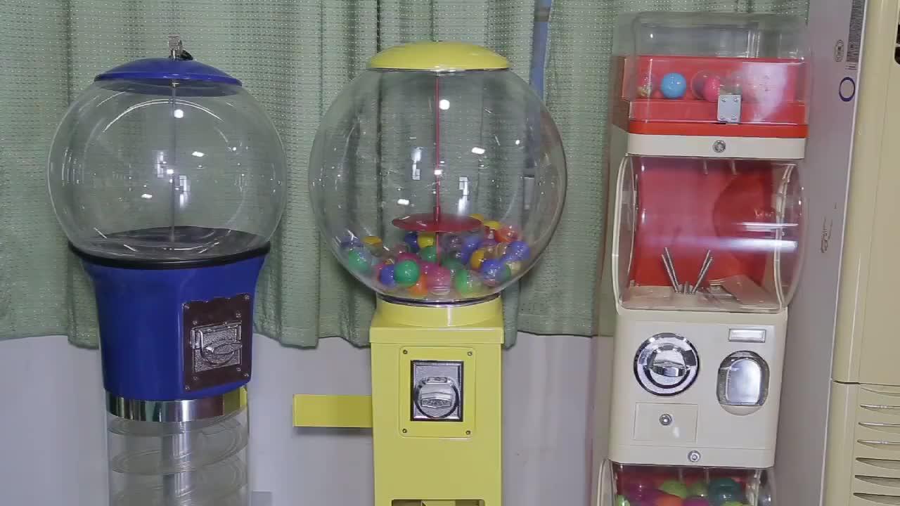 Gelgit satıcı Metal gövde şeker otomatı CVM05B