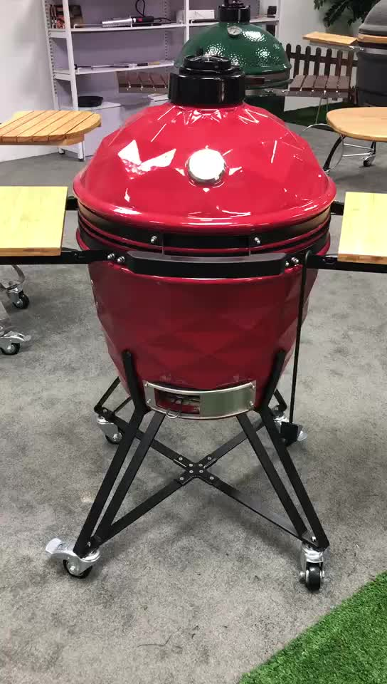 New Outdoor Kamado Creamic Barbecue Grill