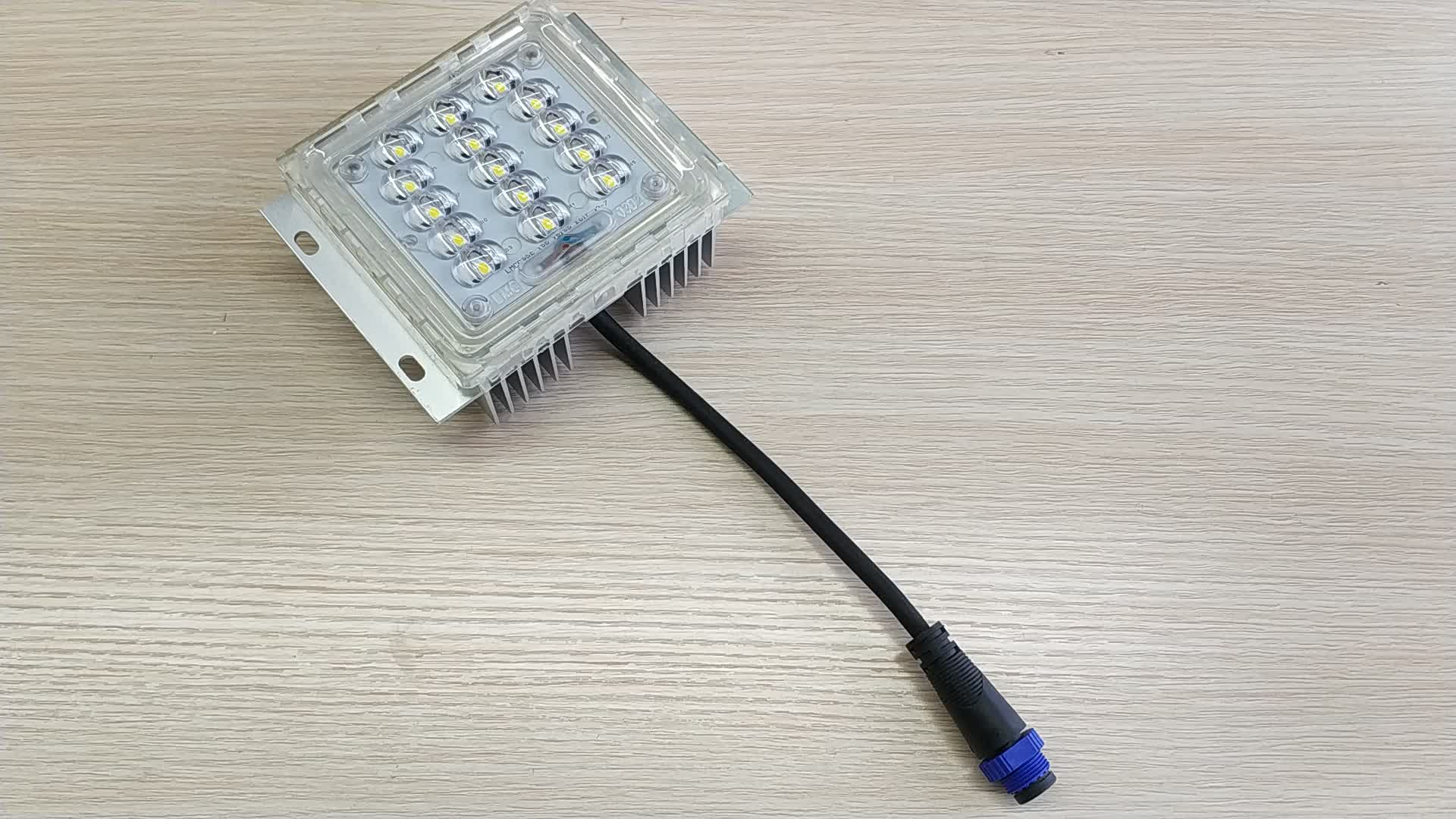 China LED módulos de bricolaje cuadrado de luz 48V de alta lúmenes SMD IP68 al aire libre módulo LED 60W