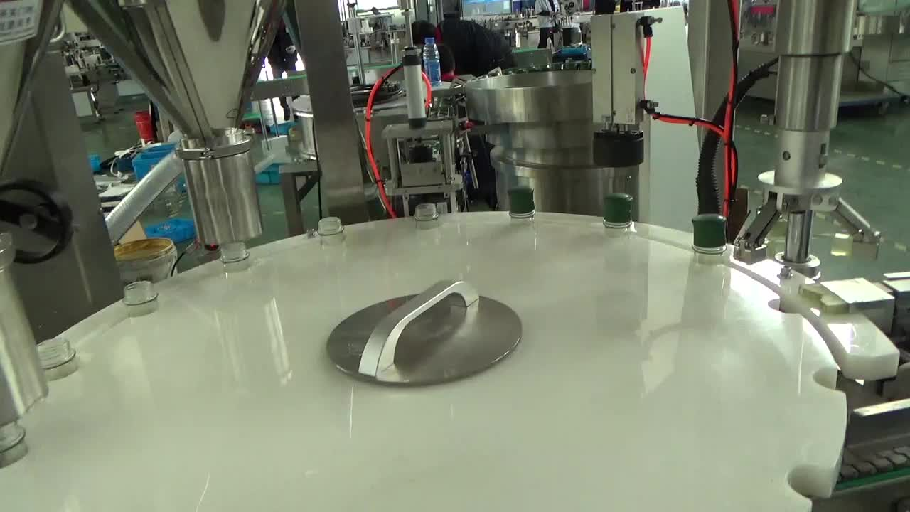 Health care product vertical form packaging powder filling machine