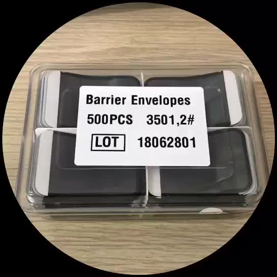 Disposable Oral material x-ray barrier envelopes X-ray protective bag