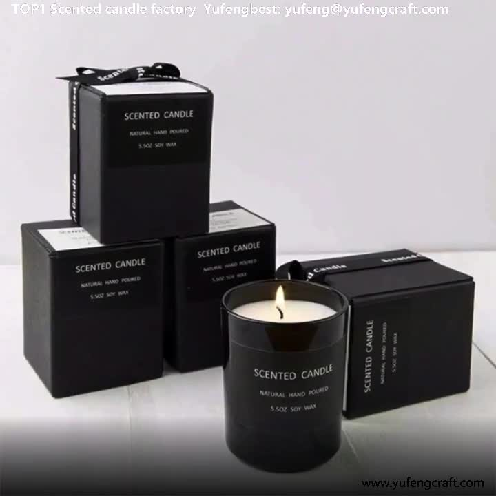 yufengbest Wholesale Manufacture High Quality Custom Scented Candles