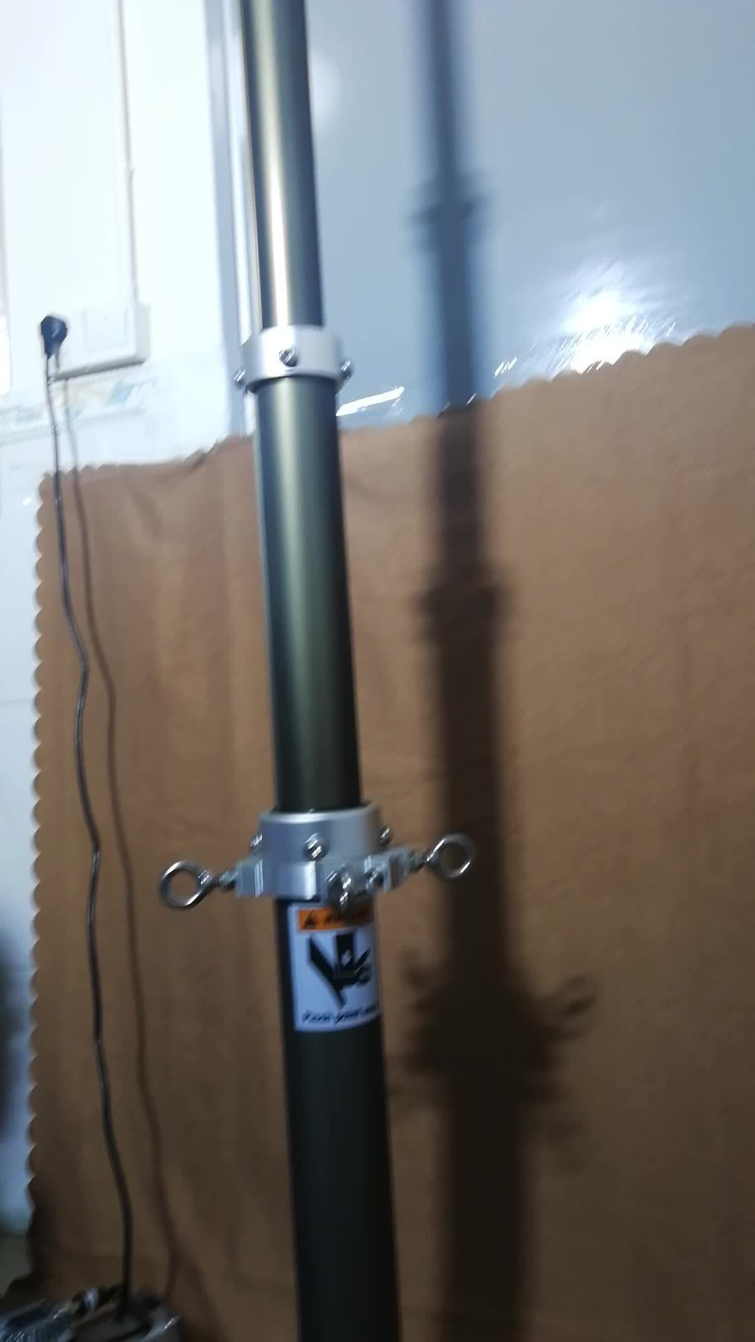 Pneumatische antenne mast hydraulische telescopische mast