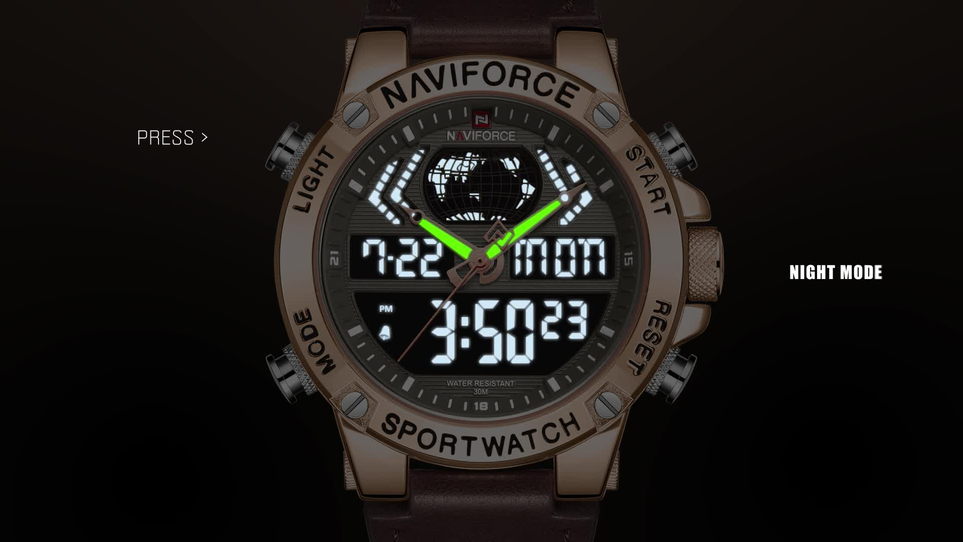 relogio masculino luxury naviforce 9164 relojes hombre Digital mens watches in wristwatches 2019 hot sale  relojes