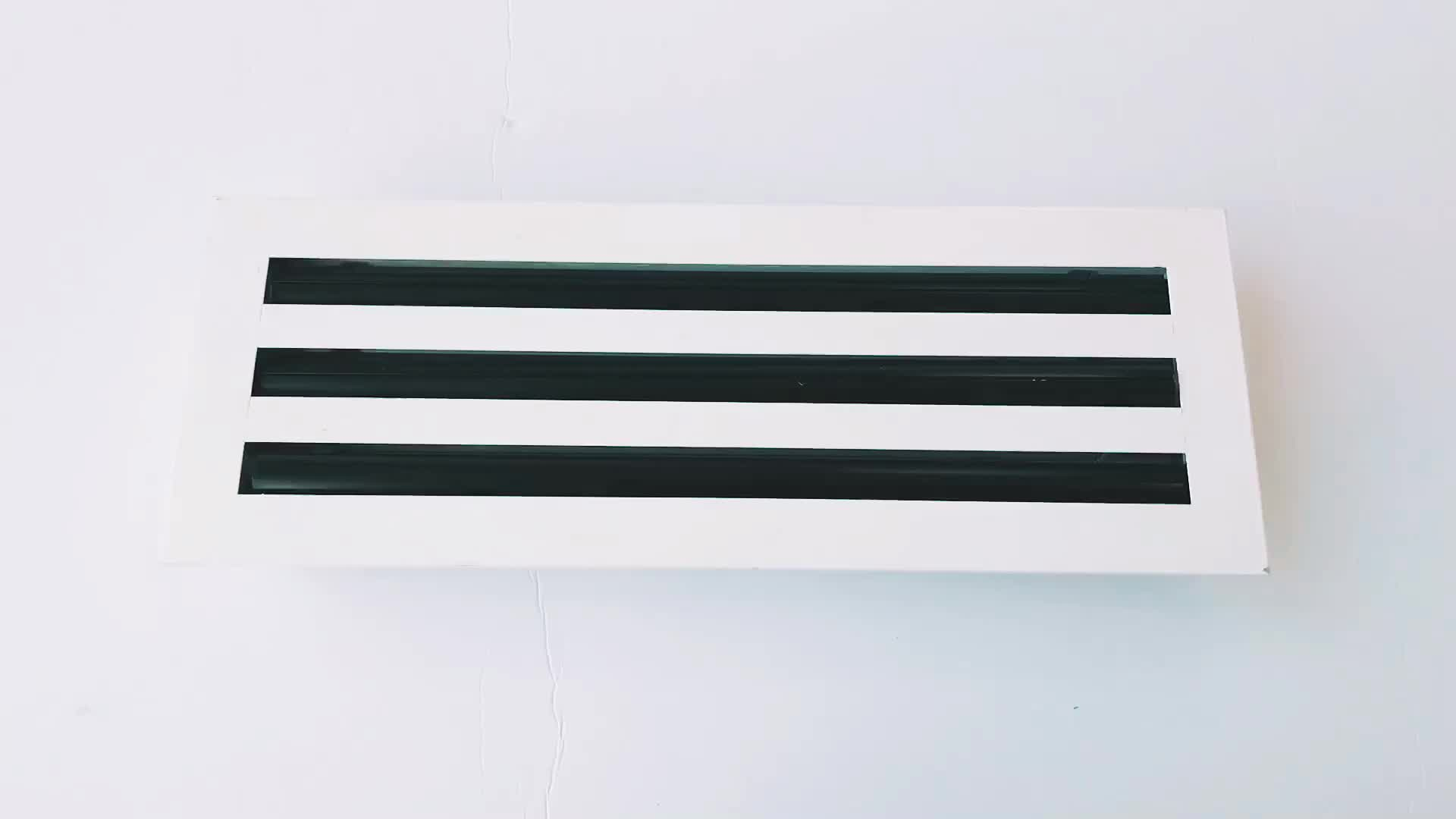 HVAC Ventilation Air Conditioning Aluminum Linear Slot Diffuser