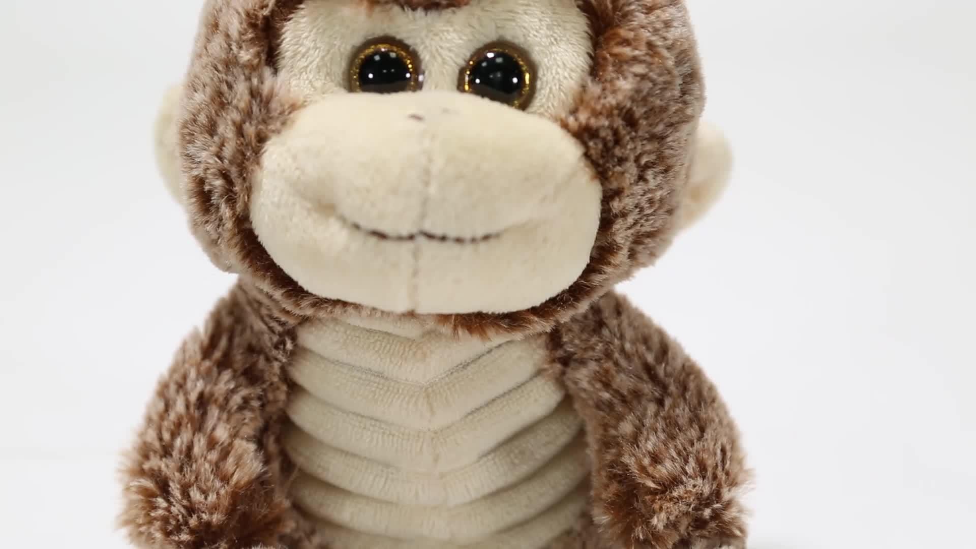 Popular custom stuffed animal monkey plush toys